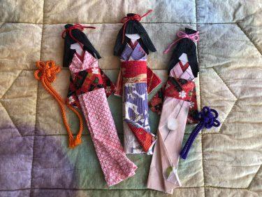雅な和紙で創る紙人形